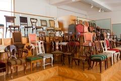 Museo imperiale della raccolta della mobilia, Vienna, Austria Fotografia Stock