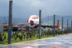 Museo interactivo del balompié en el MX de Pachuca. imágenes de archivo libres de regalías