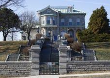 Museo Kingston Ontario Former Wardens Home della prigione immagine stock