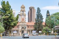 Museo literario nacional del africaans y del Sotho en Bloemfontein imagenes de archivo