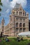 Museo Londres Inglaterra de la historia natural Fotos de archivo libres de regalías