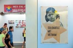 Museo los remanente de la guerra en Saigon, Vietnam Fotos de archivo libres de regalías