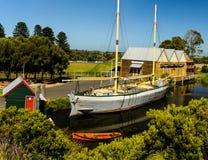 Museo marítimo de la colina de la asta de bandera foto de archivo