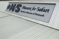 Museo marítimo de la muestra de Dinamarca fotos de archivo libres de regalías