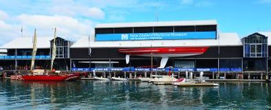 Museo marítimo de Nueva Zelanda en Auckland Imagen de archivo