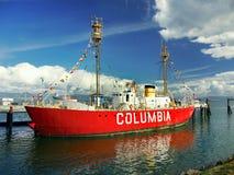 Museo marítimo del río del buque faro de Columbia, Astoria Oregon fotos de archivo libres de regalías