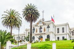 Museo marítimo en Valparaiso Chile imagenes de archivo
