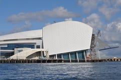 Museo marítimo Perth de Fremantle imágenes de archivo libres de regalías
