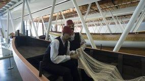 Museo marittimo a Costantinopoli che pugnala i sultani antichi del turco delle barche Immagini Stock