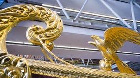 Museo marittimo a Costantinopoli che pugnala i sultani antichi del turco delle barche Immagine Stock Libera da Diritti