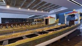 Museo marittimo a Costantinopoli che pugnala i sultani antichi del turco delle barche Immagine Stock