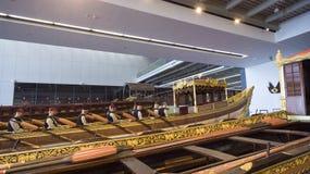 Museo marittimo a Costantinopoli che pugnala i sultani antichi del turco delle barche Fotografia Stock