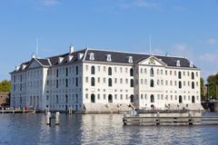 Museo marittimo di Amsterdam Immagine Stock