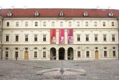 Museo medieval del castillo en Weimar Imagen de archivo libre de regalías