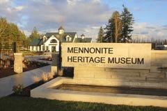 Museo menonita en Abbotsford, Columbia Británica Fotografía de archivo libre de regalías