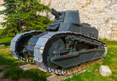 Museo militare Kalemegdan Belgrado - in Serbia fotografia stock libera da diritti