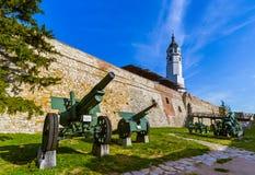 Museo militare Kalemegdan Belgrado - in Serbia fotografia stock