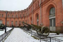 museo Militare-storico di artiglieria Fotografia Stock Libera da Diritti