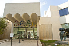 Museo miro. Foundation of miro museum of Barcelona, Spain royalty free stock photography