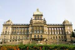 Museo Nacional checo en Praga imágenes de archivo libres de regalías