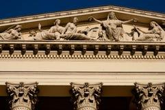 Museo Nacional de Hungría, en Budapest Fotografía de archivo