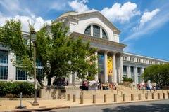 Museo Nacional de la historia natural en Washington D C Fotos de archivo libres de regalías