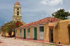 Museo Nacional de la Lucha Contra Bandidos,特立尼达 免版税库存图片