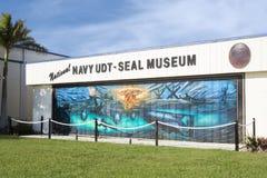 Museo nacional de la marina de guerra UDT-SEAL Foto de archivo