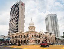 Museo nacional de la materia textil, cuadrado de Merdeka, Kuala Lumpur Imágenes de archivo libres de regalías