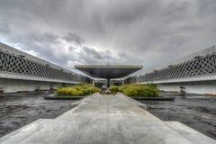 Museo Nacional de la plaza de la antropología Fotografía de archivo libre de regalías