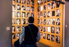 Museo Nacional de la visita de los turistas del cine en Turín, Italia foto de archivo libre de regalías