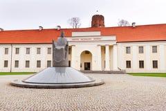 Museo Nacional de Lituania imagen de archivo libre de regalías
