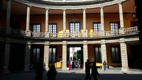 Museo Nacional de San Carlos em Cidade do México imagem de stock
