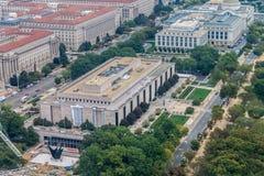 Museo Nacional de Smithsonian del Washington DC americano de la historia Foto de archivo