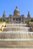 Museo Nacional del arte en Barcelona Foto de archivo