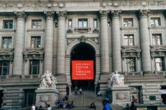 Museo Nacional del indio americano en Nueva York imagen de archivo libre de regalías