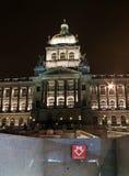Museo Nacional en Praga Imagen de archivo libre de regalías