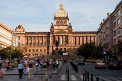 Museo Nacional en Praga Foto de archivo libre de regalías