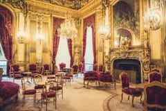 Museo Napoleon Apartments del Louvre Immagine Stock