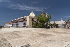 Museo Naval del Caribe, Cartagena. Museo Naval Del Caribe, a museum with exhibits on the Colombian Navy, plus the history & culture of the region Carrera 4 royalty free stock images