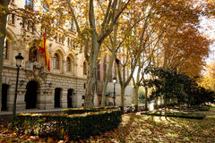 Museo naval, Paseo del Prado, Madrid, España Fotos de archivo