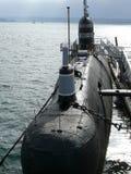 Museo naval submarino amarrado Fotos de archivo libres de regalías