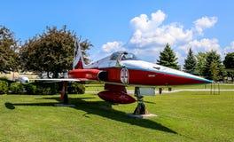 Museo nazionale dell'aeronautica del Canada Fotografia Stock Libera da Diritti