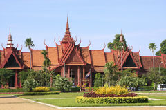 Museo nazionale della Cambogia, Phnom Penh Fotografie Stock