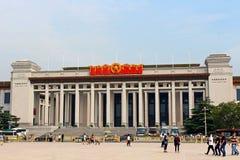 Museo nazionale della Cina a Pechino immagini stock libere da diritti