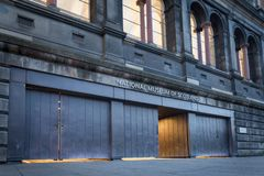 Museo nazionale della Scozia immagine stock