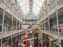 Museo nazionale della Scozia a Edimburgo Fotografia Stock Libera da Diritti