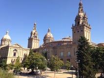 Museo Nazionale di arte a Barcellona Immagine Stock Libera da Diritti