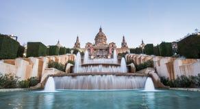 Museo nazionale di arte, Barcellona fotografia stock libera da diritti