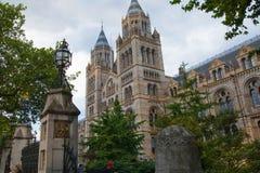Museo nazionale di storia, Londra Fotografia Stock